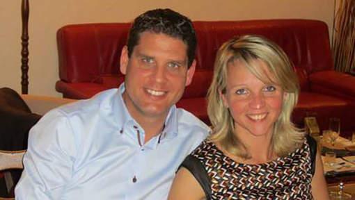 Dokter Thierry De Craecker, hier met zijn vriendin, was sinds 18 februari spoorloos verdwenen.