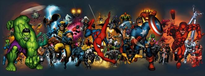 Marvel banner